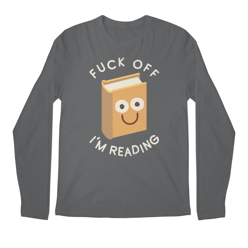 All Booked Up Men's Longsleeve T-Shirt by David Olenick