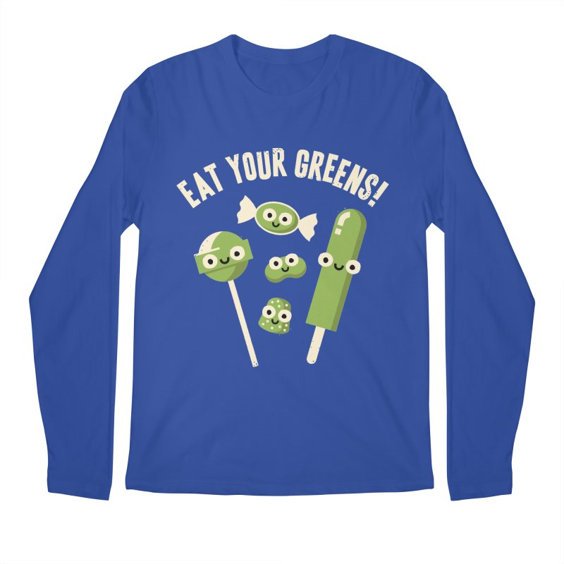 Unnatural Selection Men's Longsleeve T-Shirt by David Olenick