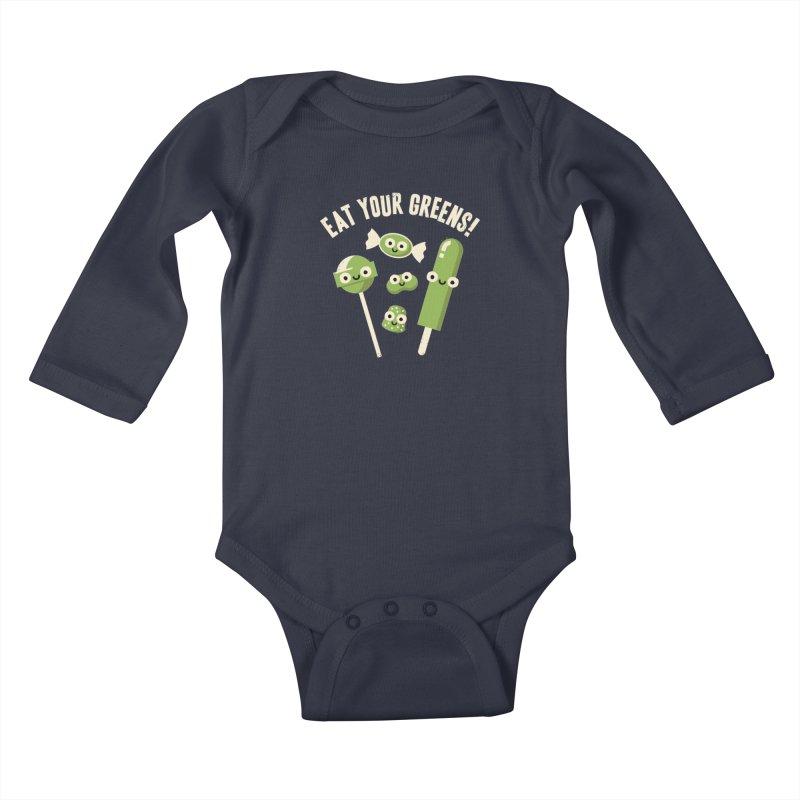 Unnatural Selection Kids Baby Longsleeve Bodysuit by David Olenick