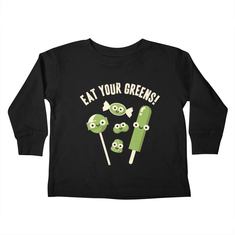 Unnatural Selection Kids Toddler Longsleeve T-Shirt by David Olenick