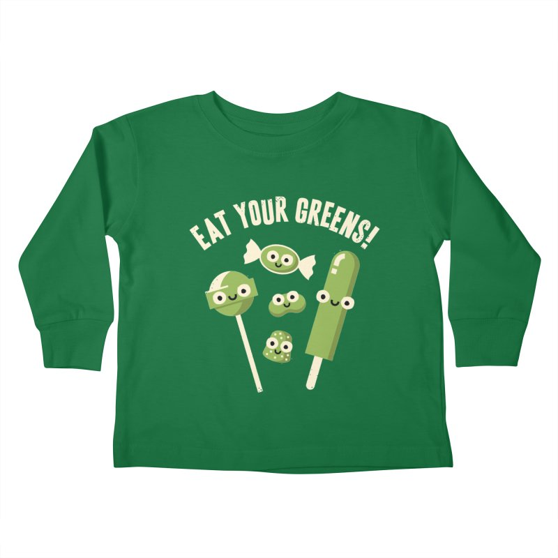 Unnatural Selection Kids Toddler Longsleeve T-Shirt by David Olenick