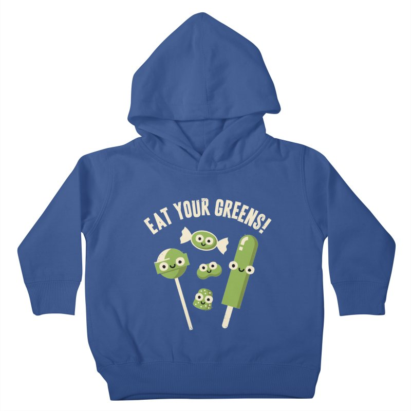 Unnatural Selection Kids Toddler Pullover Hoody by David Olenick