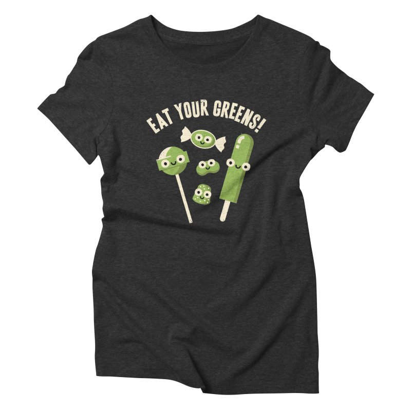 Unnatural Selection Women's Triblend T-shirt by David Olenick