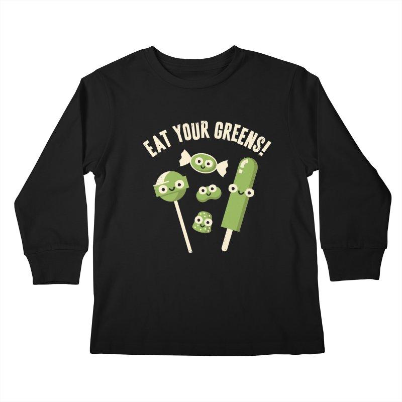 Unnatural Selection Kids Longsleeve T-Shirt by David Olenick