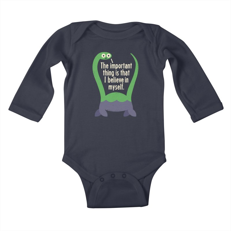 Myth Understood Kids Baby Longsleeve Bodysuit by David Olenick