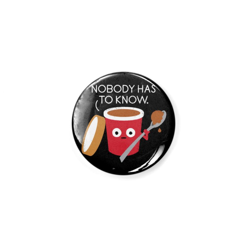 Cold Comfort Accessories Button by David Olenick