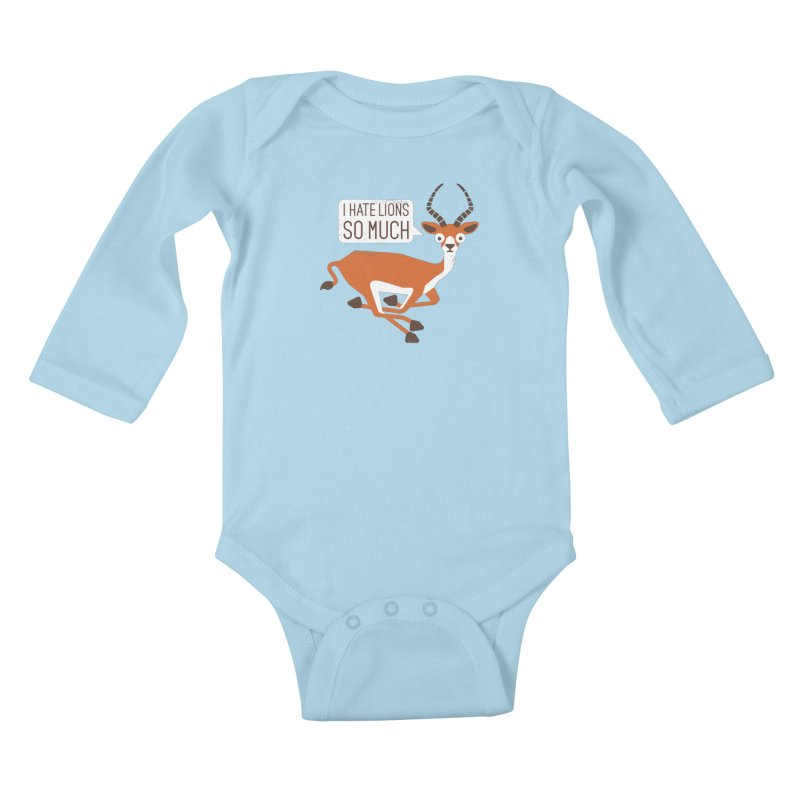 Prey Tell Kids Baby Longsleeve Bodysuit by David Olenick