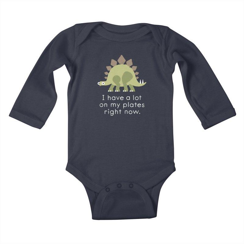 Stego Tsuris Kids Baby Longsleeve Bodysuit by David Olenick