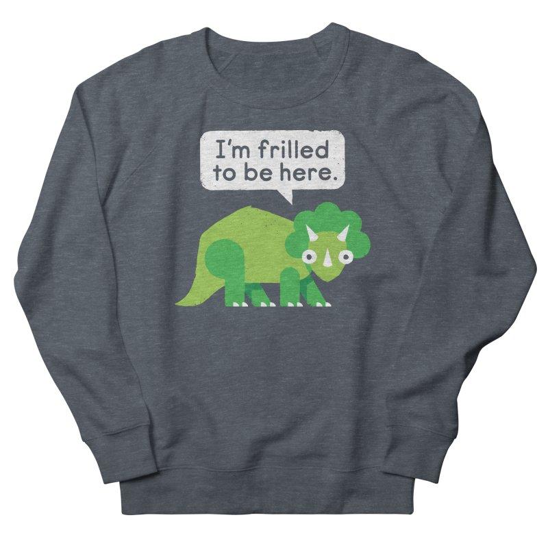 Hereforitosaurus Men's Sweatshirt by David Olenick