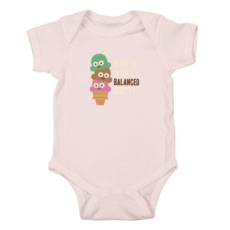 Coneventional Wisdom Kids Baby Bodysuit by David Olenick