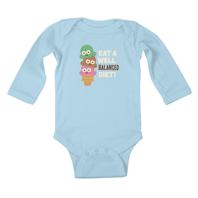 Coneventional Wisdom Kids Baby Longsleeve Bodysuit by David Olenick