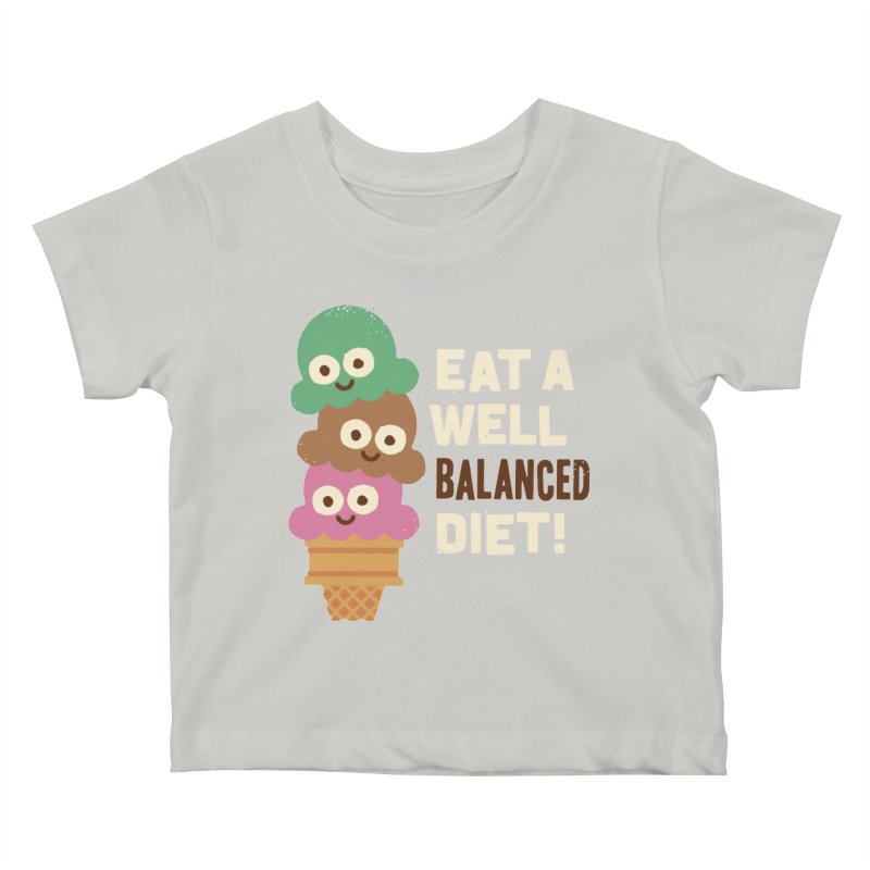 Coneventional Wisdom Kids Baby T-Shirt by David Olenick
