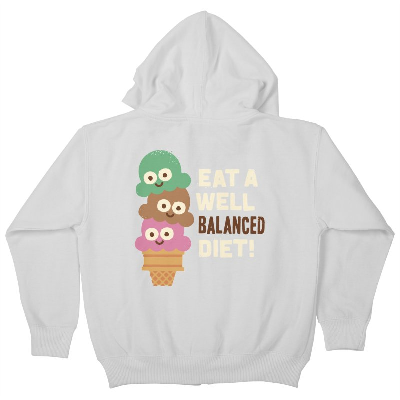Coneventional Wisdom Kids Zip-Up Hoody by David Olenick