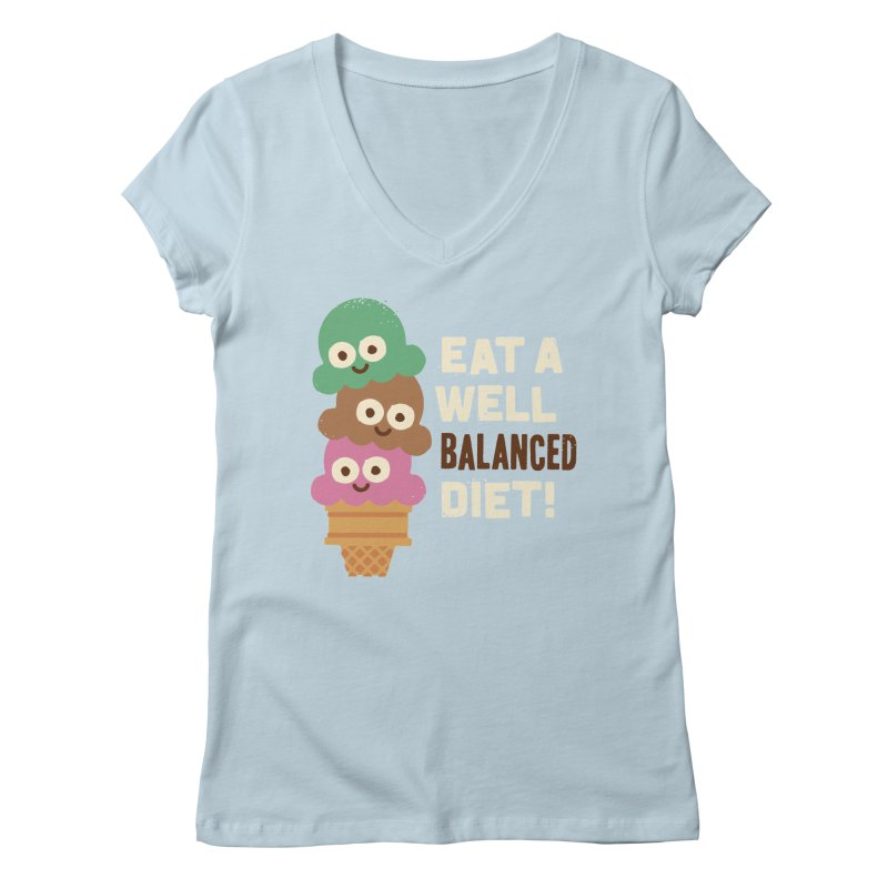 Coneventional Wisdom Women's V-Neck by David Olenick