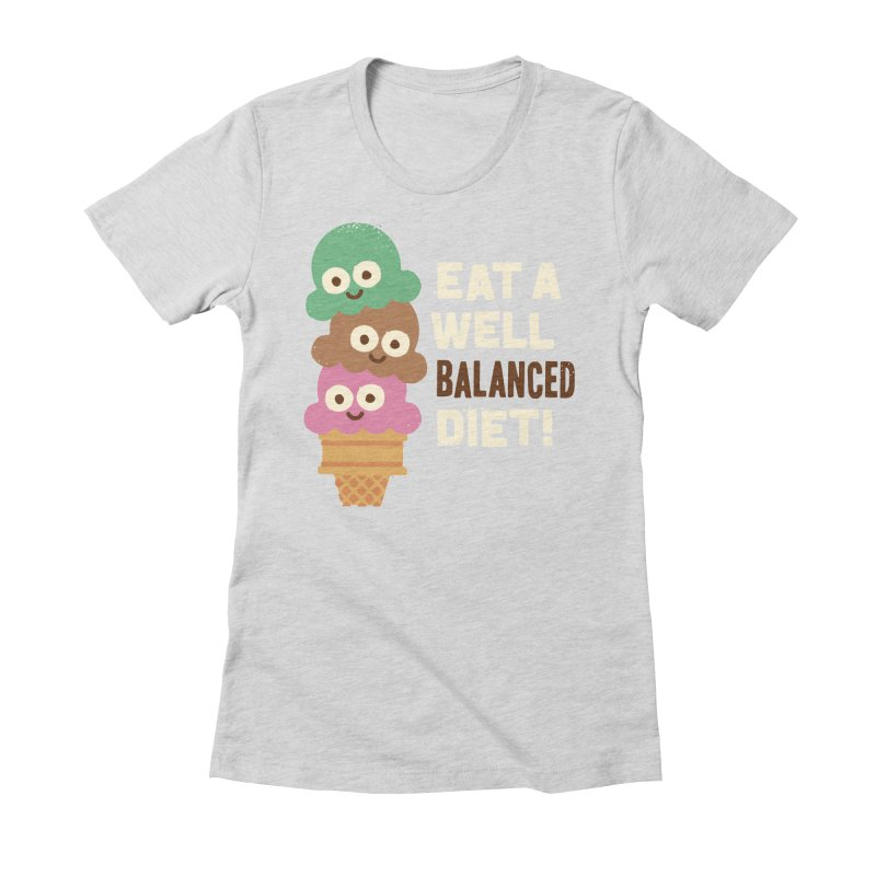 Coneventional Wisdom Women's Fitted T-Shirt by David Olenick