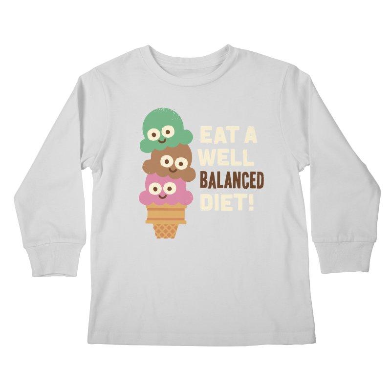 Coneventional Wisdom Kids Longsleeve T-Shirt by David Olenick