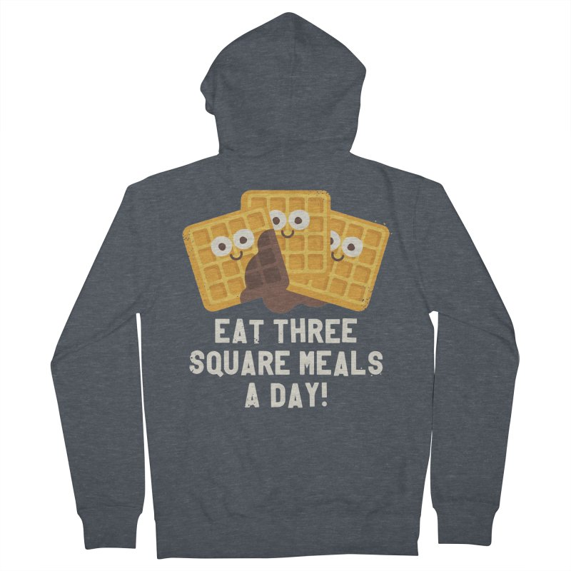 Because You Deserve Batter Men's Zip-Up Hoody by David Olenick