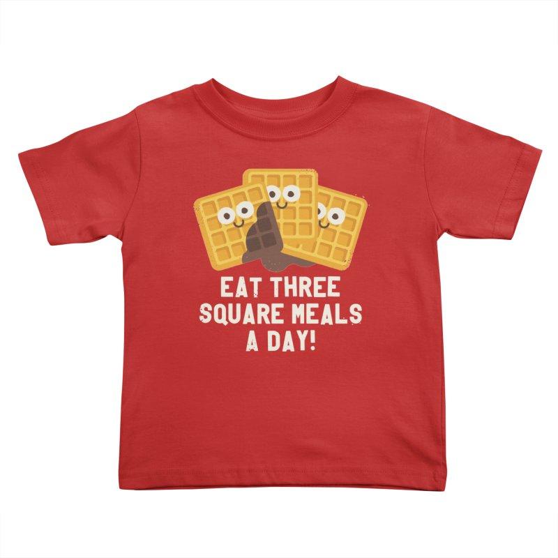 Because You Deserve Batter Kids Toddler T-Shirt by David Olenick