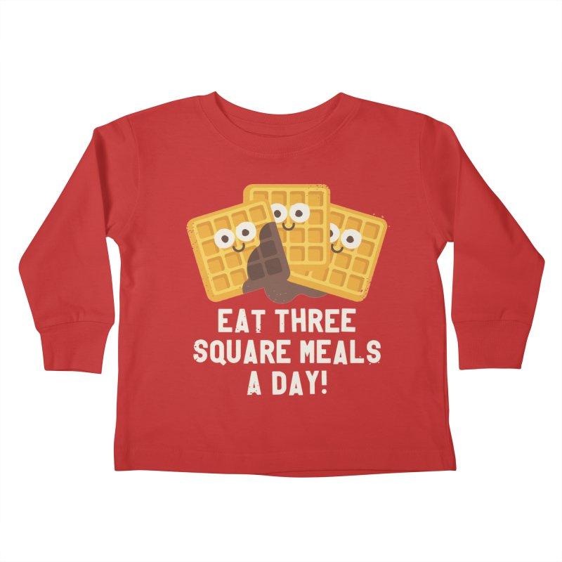 Because You Deserve Batter Kids Toddler Longsleeve T-Shirt by David Olenick