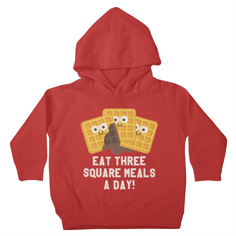 Because You Deserve Batter Kids Toddler Pullover Hoody by David Olenick