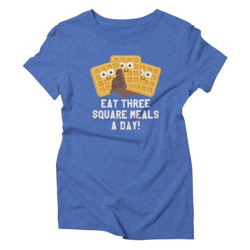Because You Deserve Batter Women's Triblend T-shirt by David Olenick