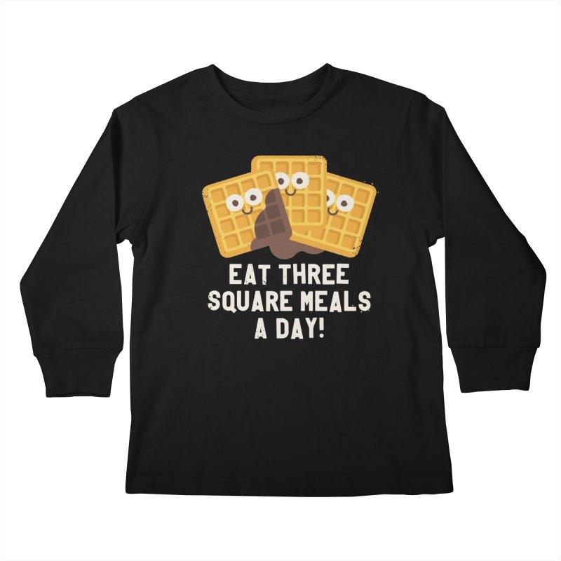 Because You Deserve Batter Kids Longsleeve T-Shirt by David Olenick