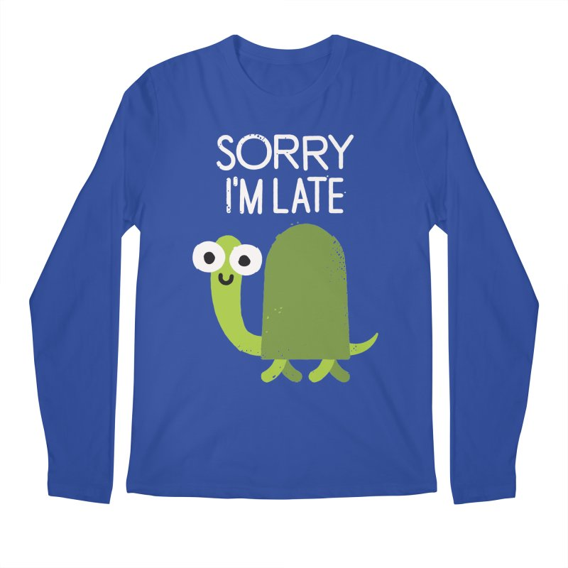 Tardy Animal Men's Longsleeve T-Shirt by David Olenick
