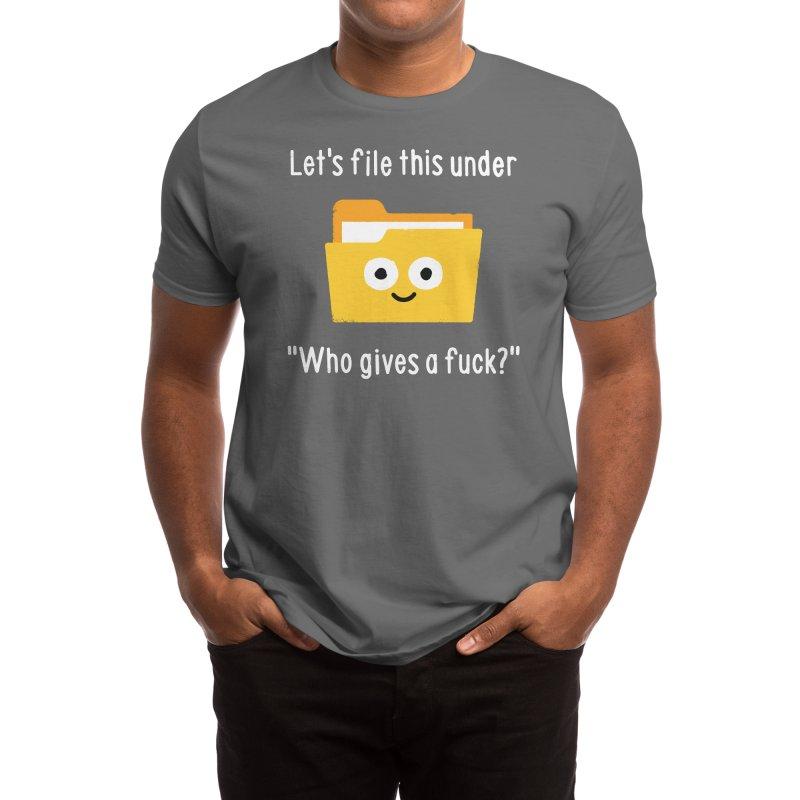 In the Eye of the Befolder Men's T-Shirt by David Olenick
