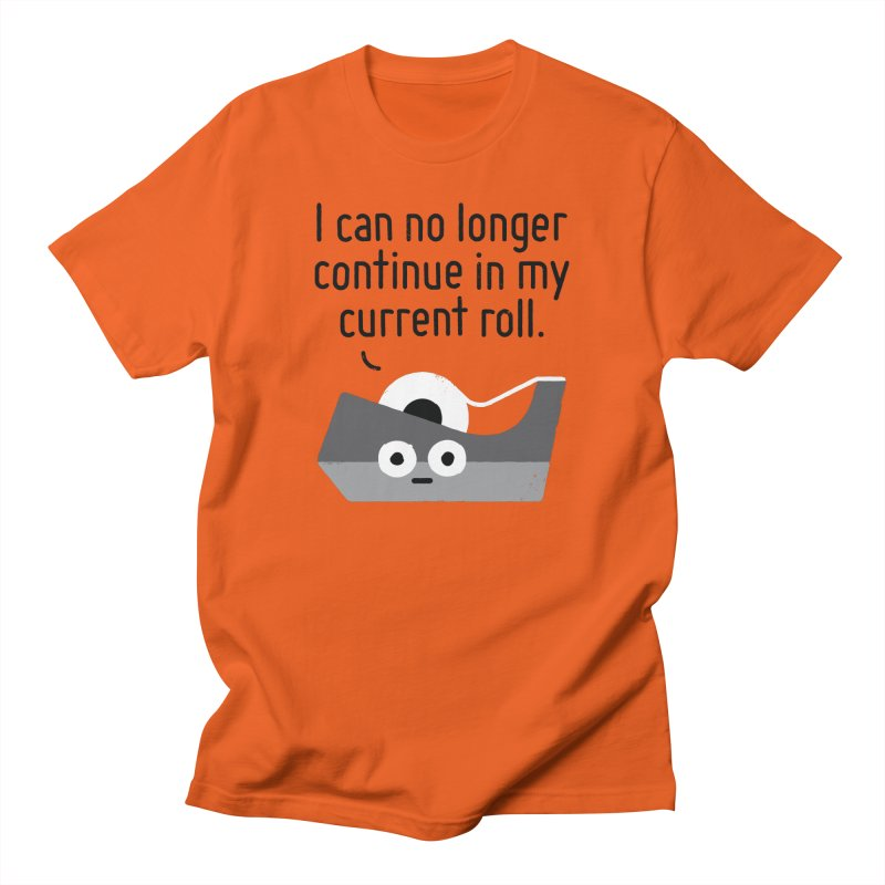 Can't Stick It Out Men's T-Shirt by David Olenick