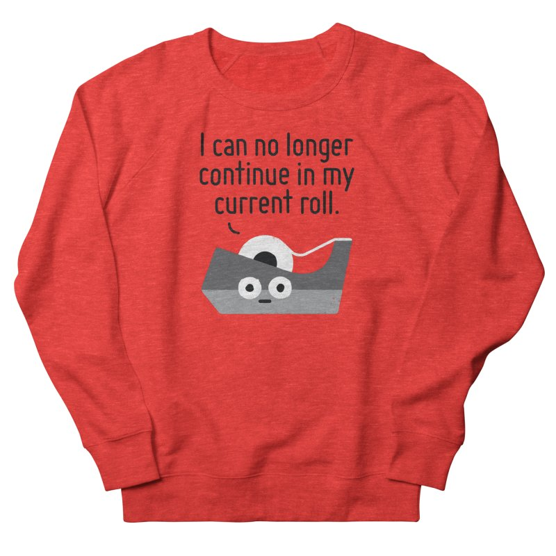 Can't Stick It Out Men's Sweatshirt by David Olenick