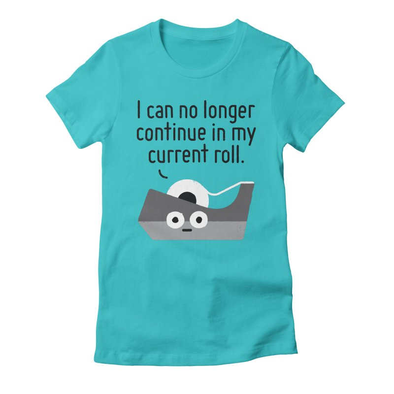 Can't Stick It Out Women's T-Shirt by David Olenick