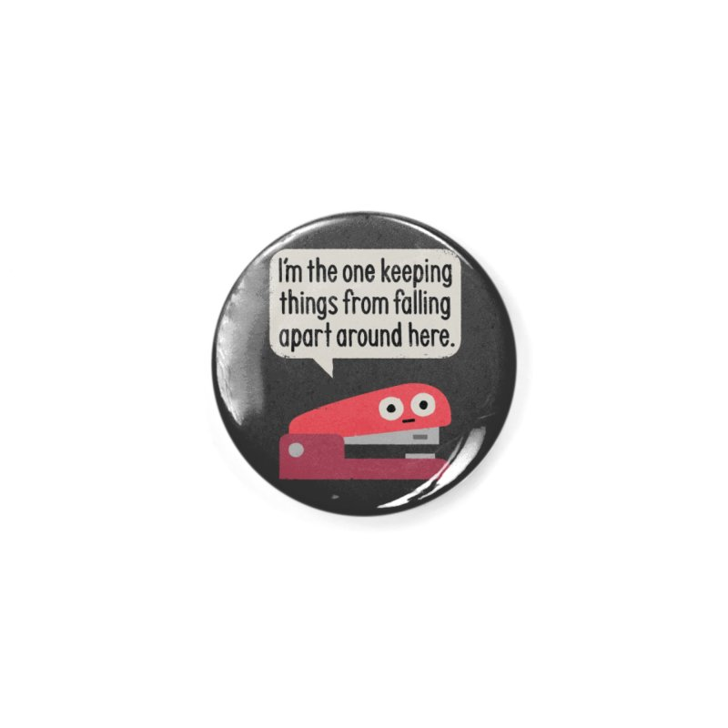 Fasten Furious Accessories Button by David Olenick