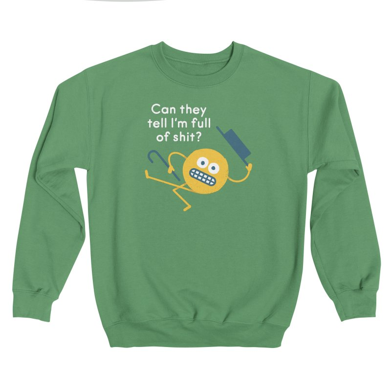 Fraudeville Men's Sweatshirt by David Olenick