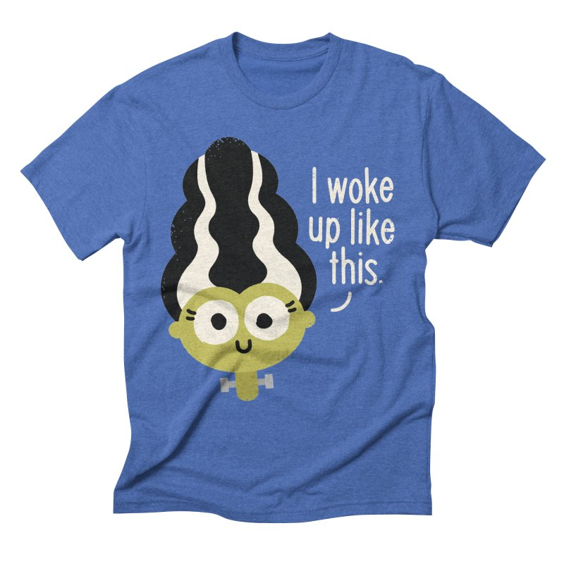 Bride Hair Day Men's Triblend T-shirt by David Olenick