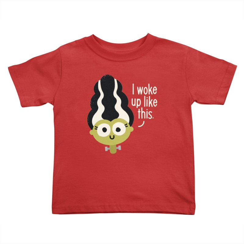 Bride Hair Day Kids Toddler T-Shirt by David Olenick