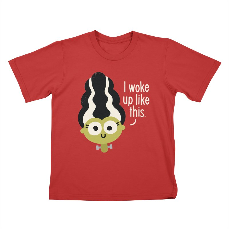 Bride Hair Day Kids T-shirt by David Olenick