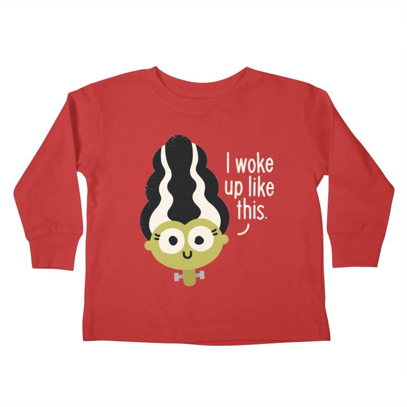 Bride Hair Day Kids Toddler Longsleeve T-Shirt by David Olenick