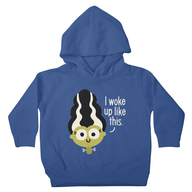 Bride Hair Day Kids Toddler Pullover Hoody by David Olenick