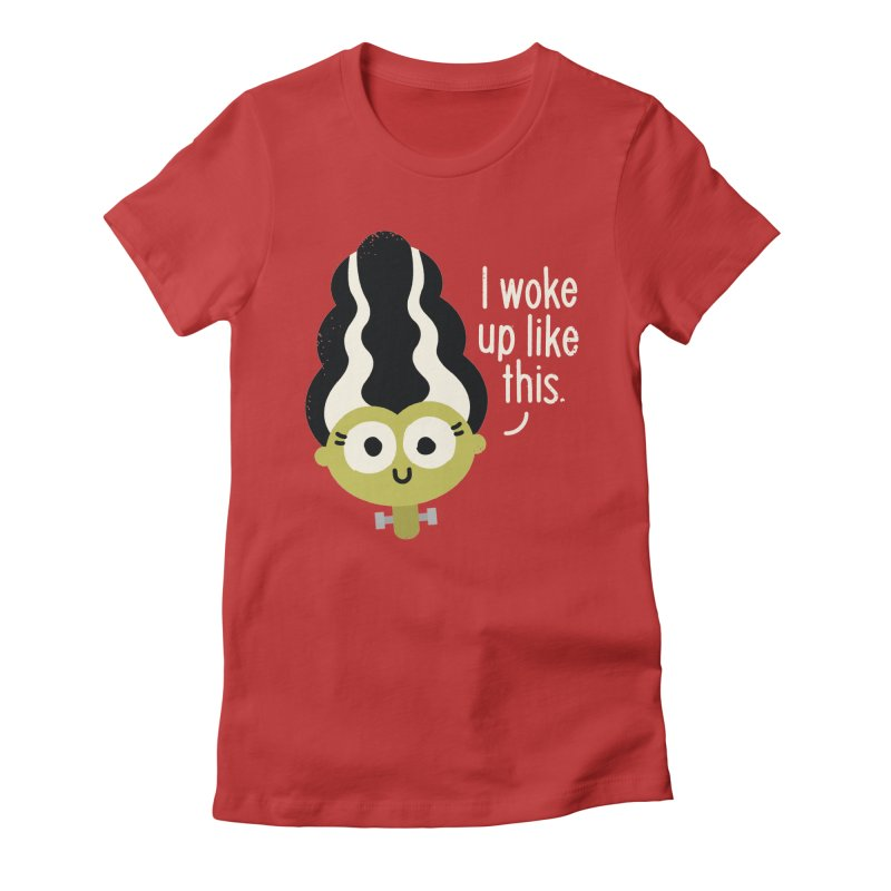 Bride Hair Day Women's Fitted T-Shirt by David Olenick