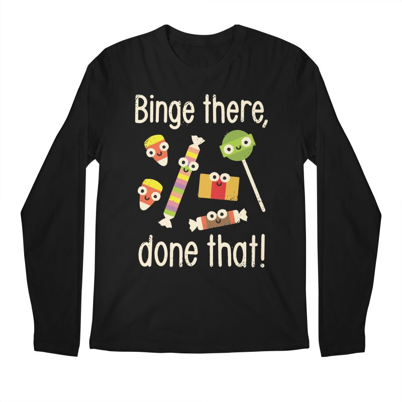 Half in the Bag Again Men's Longsleeve T-Shirt by David Olenick