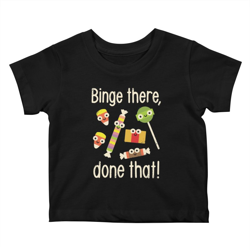 Half in the Bag Again Kids Baby T-Shirt by David Olenick