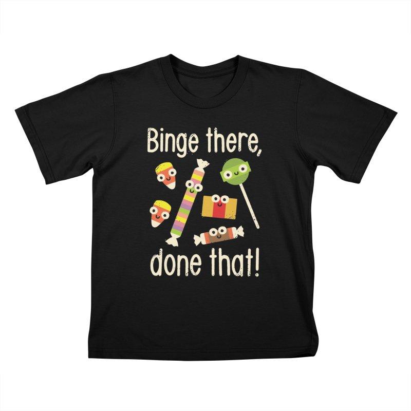 Half in the Bag Again Kids T-shirt by David Olenick