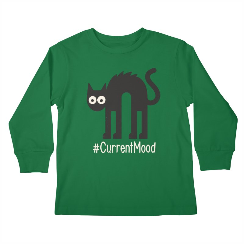 Nope Springs Eternal Kids Longsleeve T-Shirt by David Olenick