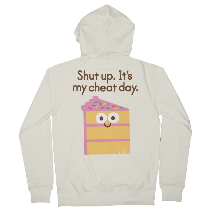 Taking the Cake Men's Zip-Up Hoody by David Olenick