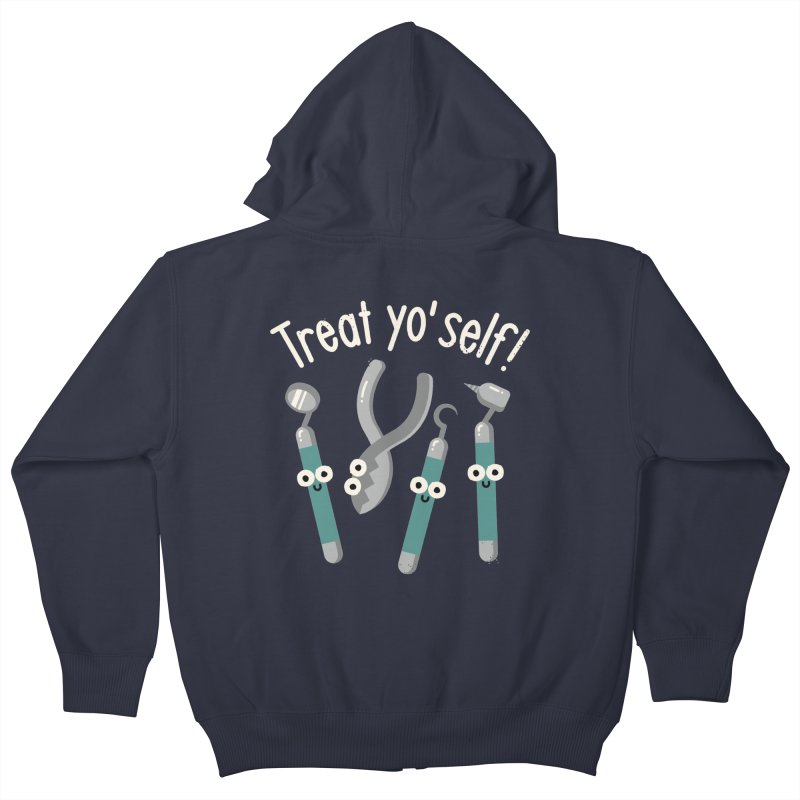 Just Desserts Kids Zip-Up Hoody by David Olenick