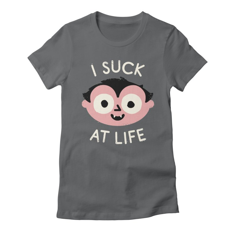 Reality Bites Women's Fitted T-Shirt by David Olenick