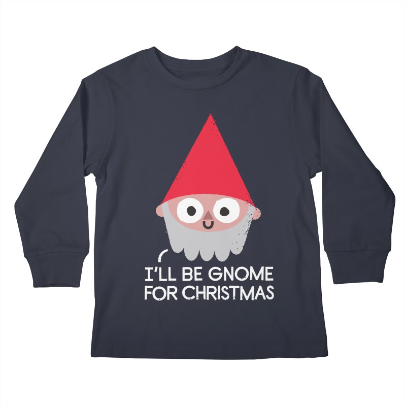 The Lawn and Winding Road Kids Longsleeve T-Shirt by David Olenick