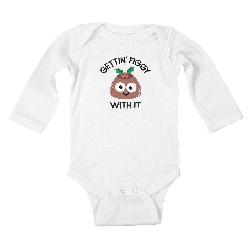 Body English Kids Baby Longsleeve Bodysuit by David Olenick