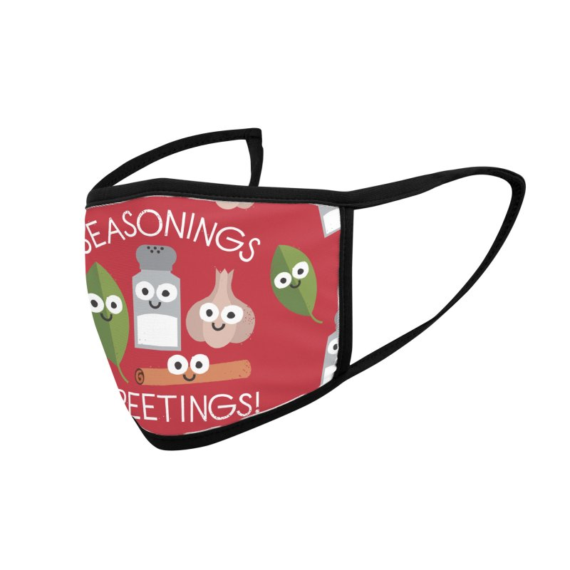 My Flavorite Things Accessories Face Mask by David Olenick