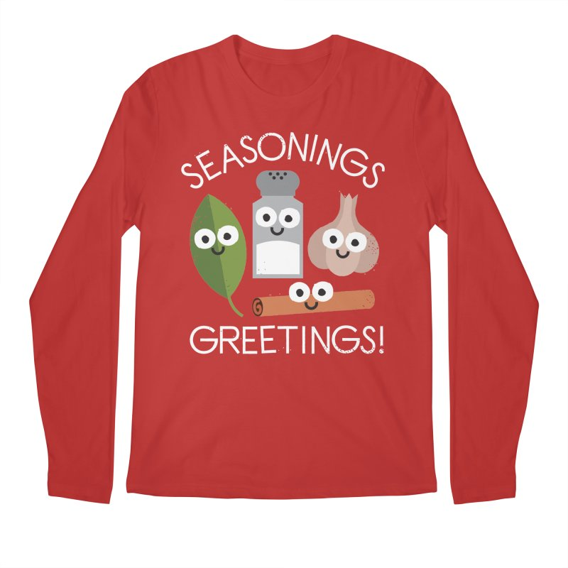 My Flavorite Things Men's Longsleeve T-Shirt by David Olenick